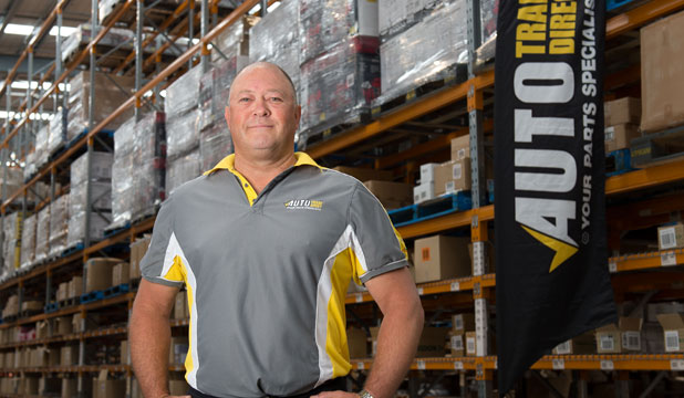 Confident 'Internal entrepreneur' Paul Flay brings over three decades of experience in the auto parts trade.