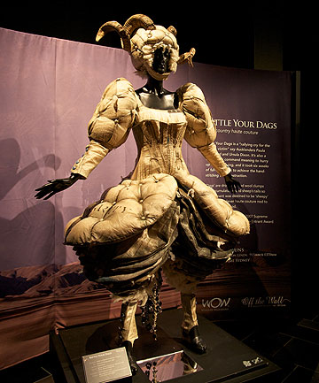 WOW: Pieces from World of Wearable Art's Off The Wall showcase currently on display at Auckland Museum.