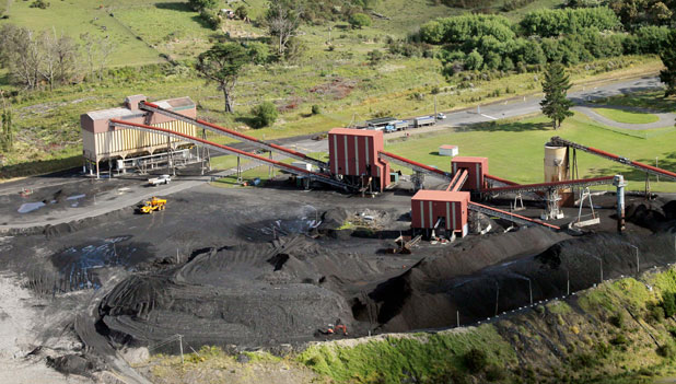 Solid Energy's Huntly East Mine