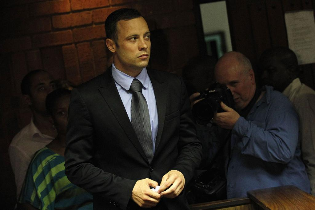 Every move by Oscar Pistorius in court is under intense scrutiny from the media.