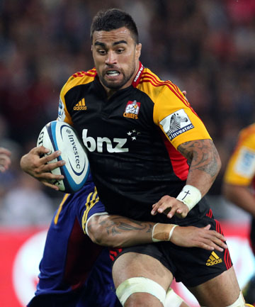 PERFECT BEGINNING: Liam Messam and Chiefs have started their defence of the Super Rugby season with a win over the Highlanders.
