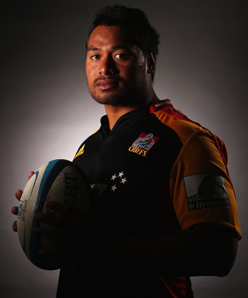 NOT LOOKING BACK: Chiefs prop Pauliasi Manu can't believe his good fortune.