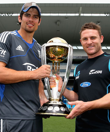 Alistair Cook and Brendon McCullum