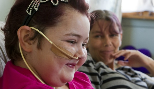 Shylah Harwood, 14, enjoys a laugh with mum, Cheryl Wilson