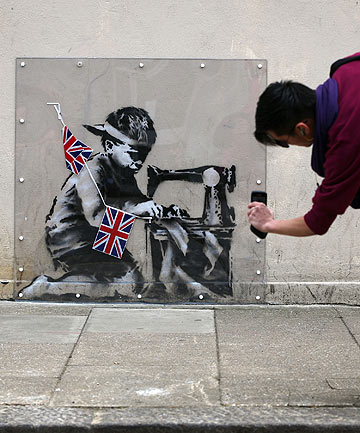 Slave Labour by Banksy