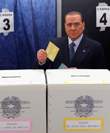 Italy election Berlusconi