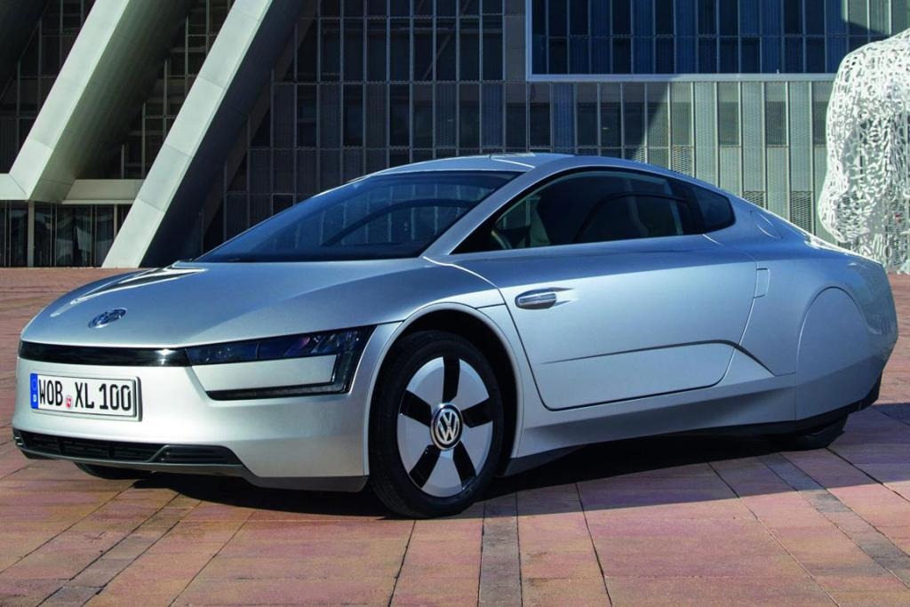 Volkswagen's futuristic and fuel efficient XL1.