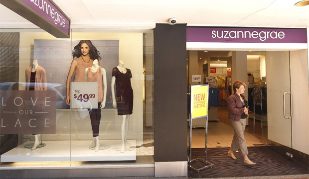 LAST RESORT: Retail chain Suzanne Grae has proposed a plan to shut down its 19 New Zealand stores.