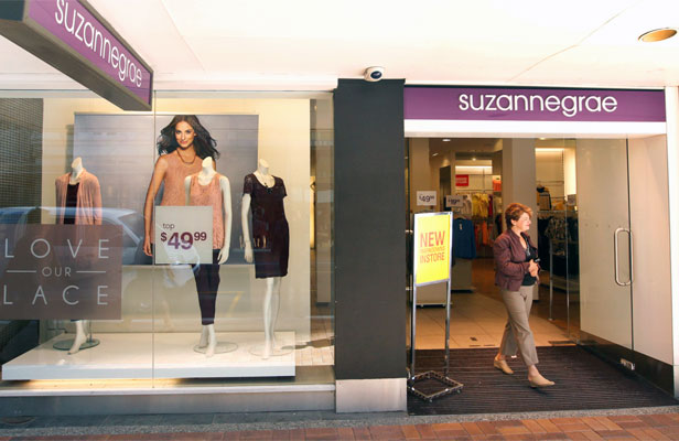 ROUGH TIMES: Suzanne Grae faces job losses of about 100.