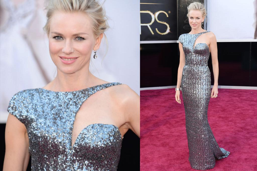 The Best - Many won't like this galactic gown, but we think Naomi Watts rocks her Armani metallic dress thanks to impeccable styling. She's even working poofy hair well. Pro.