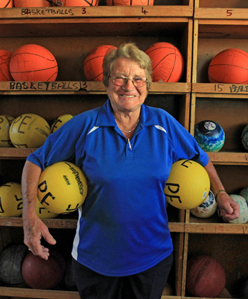 Dot Andrews has retired from Spotswood college after 44 years work.