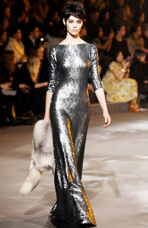 This Marc Jacobs dress has 'red carpet' written all over it. It's from the designer's recent New York Fashion Week show.