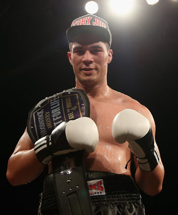 GOOD FORM: Joseph Parker has three wins from three fights in his fledgling professional career.