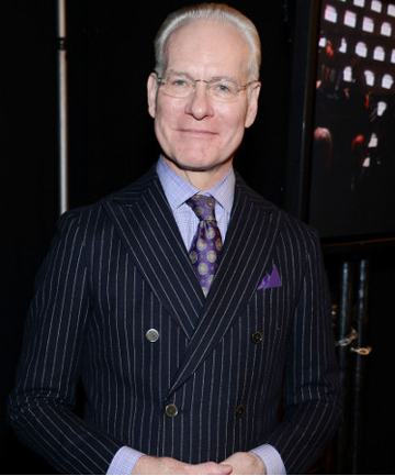 NICE AND TIGHT: Style guru Tim Gunn relies on shapewear to keep himself looking tidy.