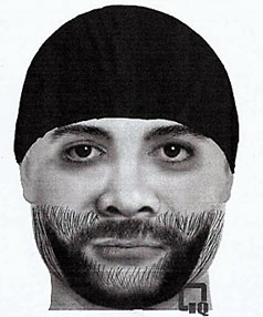 Police sketch of sex attacker