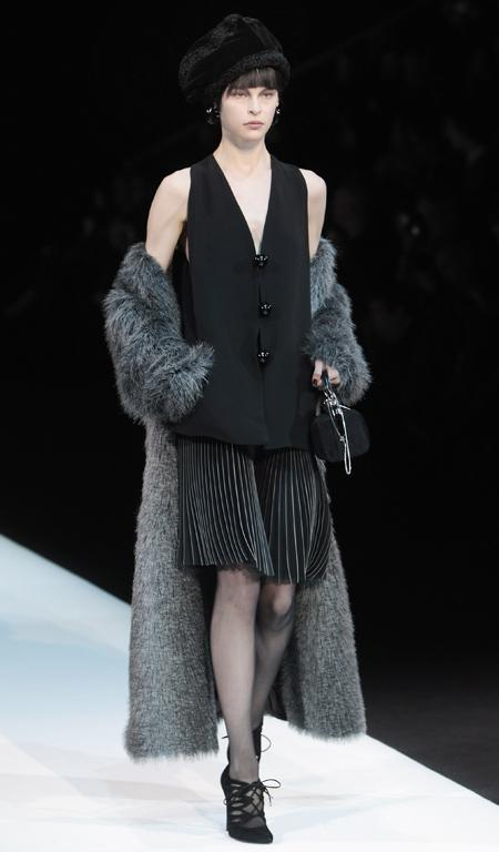 Armani at Milan Fashion Week