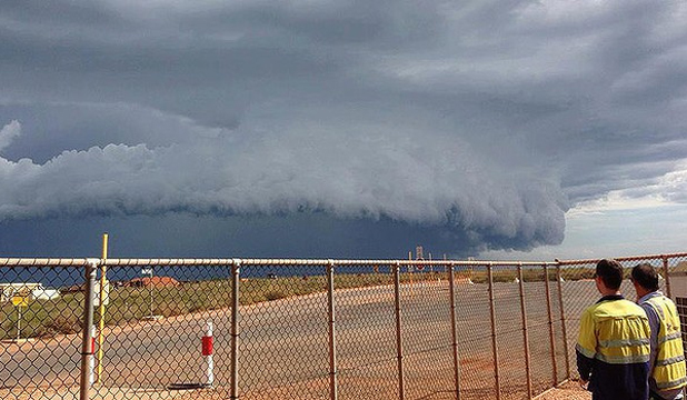West Australia Cyclone Rusty
