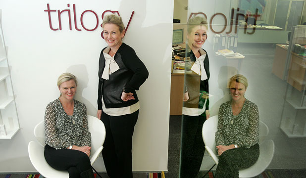 Trilogy Skincare founders Sarah Gibbs, left, and Catherine de Groot.