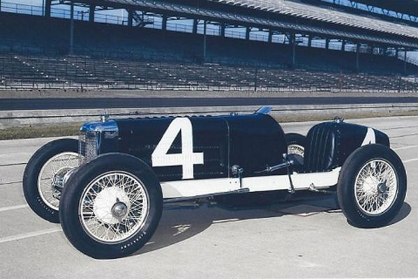 The supercharged Miller 91, the 1928 Indianapolis 500 pole winner