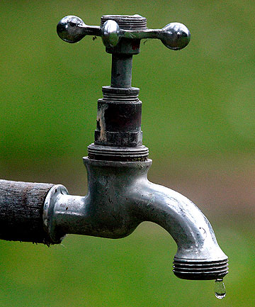SHORT SUPPLY: Residents in North and South Auckland are being advised to conserve water as dry conditions worsen.
