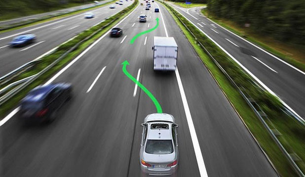 HANDS OFF: BMW has revealed that it will soon include driver assistance technology.