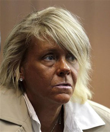BRONZED MUM: Patricia Krentcil denies taking her daughter to a tanning salon.