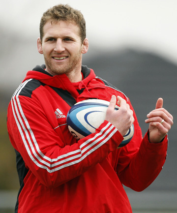 STEPPING UP: Kieran Read will take charge of the Crusaders tonight against the Blues.