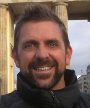 FAMILY GRIEVING: Adam Strange, a well known filmmaker, died after being attacked by a shark off Muriwai Beach.