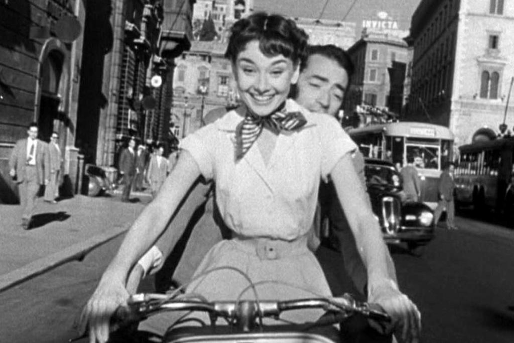 Audrey Hepburn as Princess Ann in Roman Holiday (1953).