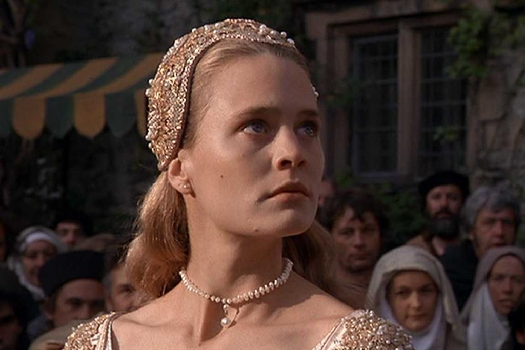 Robin Wright as Princess Buttercup in The Princess Bride (1987).