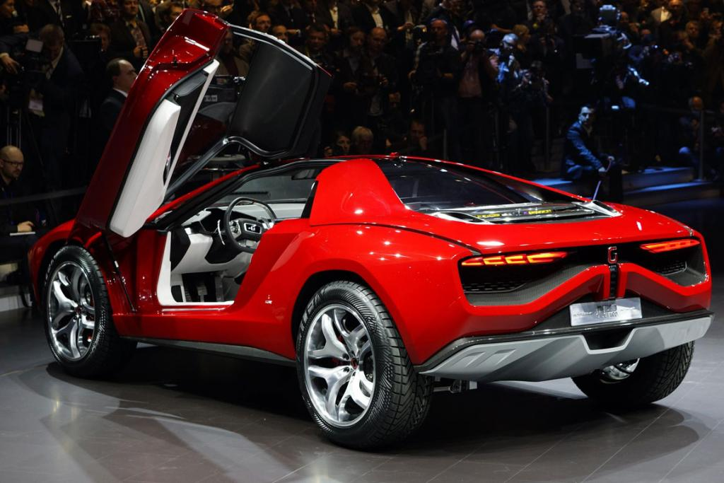 Italdesign's Lamborghini off-road concept, the Parcour.