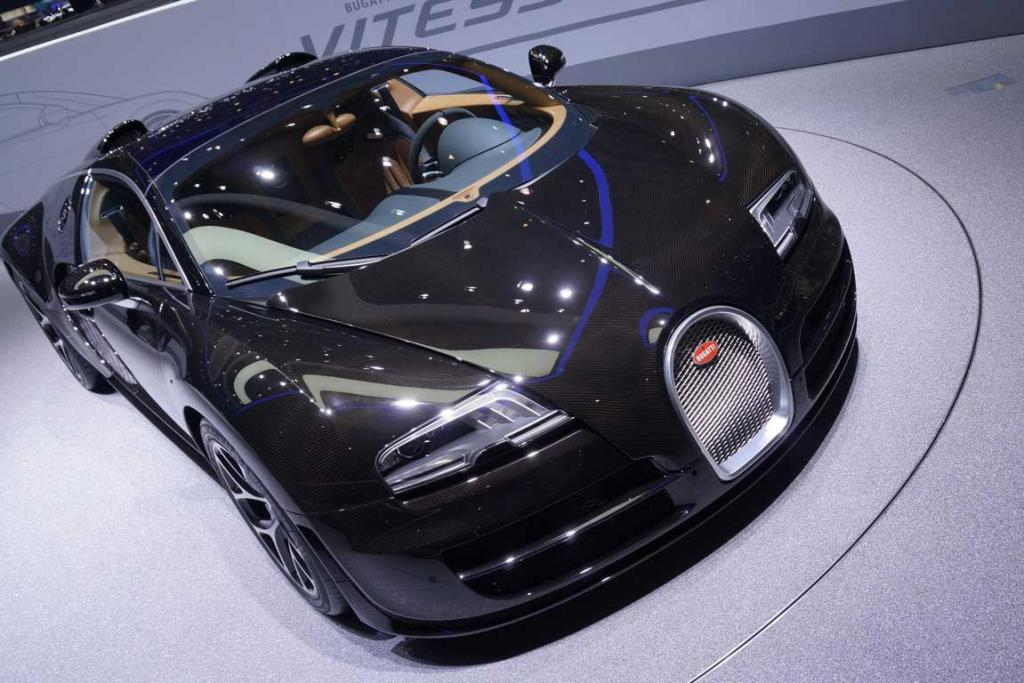 Bugatti at the Geneva Motor Show.