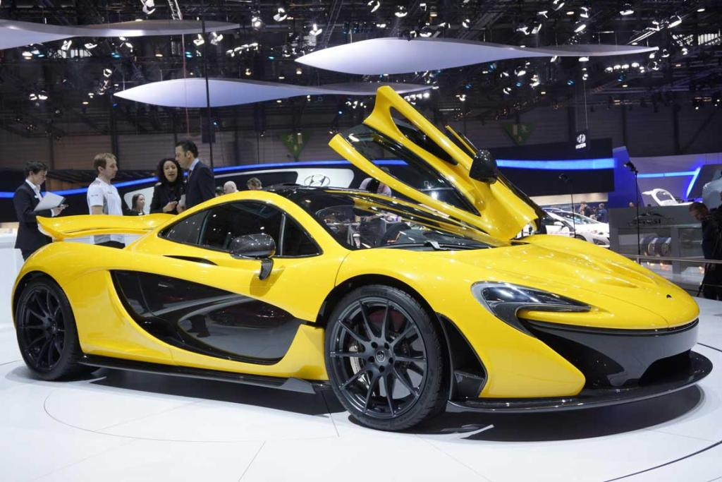 McLaren's P1 at the Geneva Motor Show.