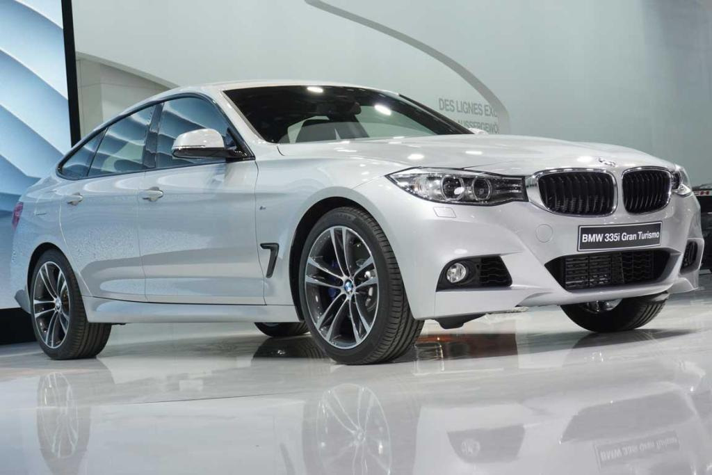 BMW 335i Gran Turismo at the Geneva Motor Show.