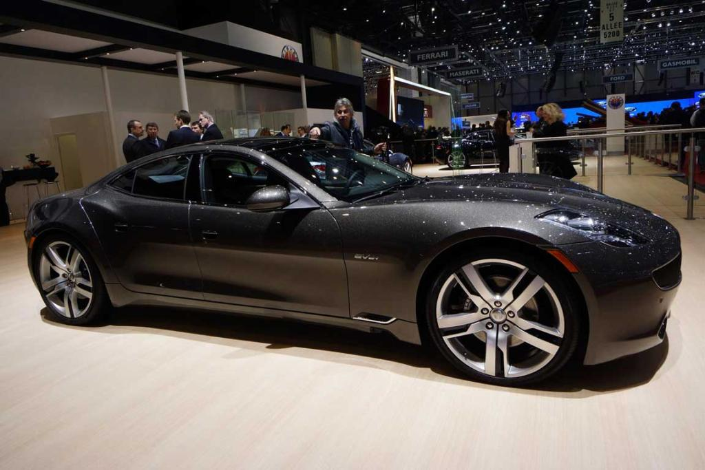 Fisker at the Geneva Motor Show.