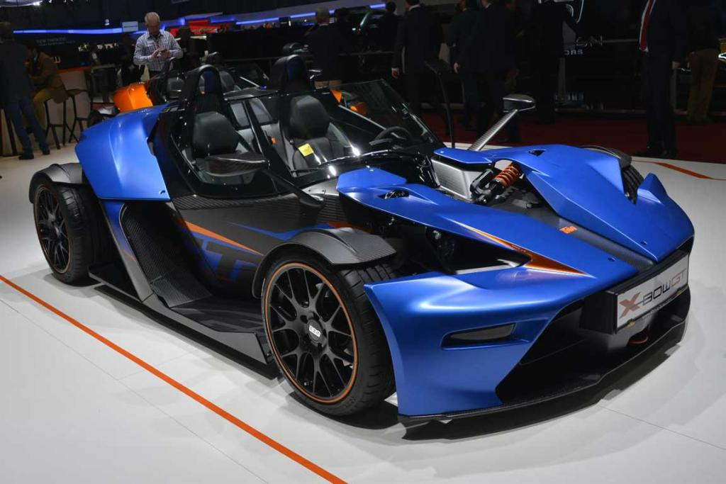 KTM X-Bow GT version at the Geneva Motor Show.