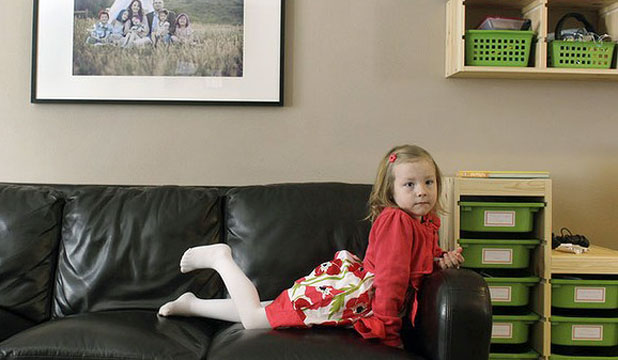 POSTER CHILD: Told to live life as a girl, 6-year-old Coy Mathis' parents are now suing her school over toilet access.