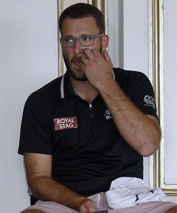 "DAN VETTORI: ""My behaviour was completely unprofessional in going out and I should have spent time with Jeetan in another way."""