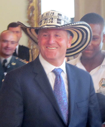 """SOMBRERO MOMENT: """"My media are going to love this."""""""