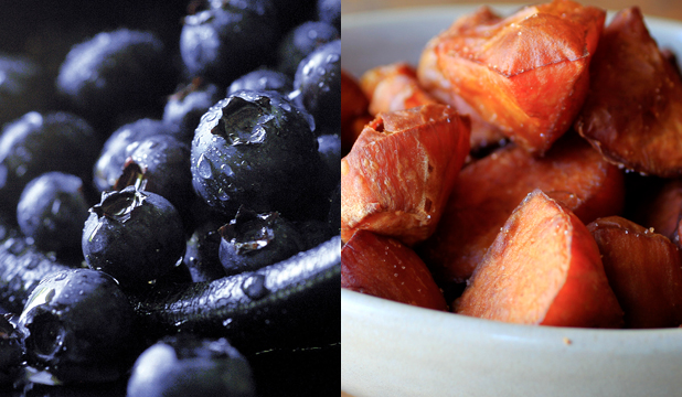 BRAIN POWER: Both blueberries and kumara are believed to boost our mental strength.