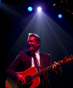 Best known for co-founding The Eagles, Glenn Frey has carved out a successful solo career but also, in more recent times, diversified into jazz, blues and music from the early parts of the 20th century.