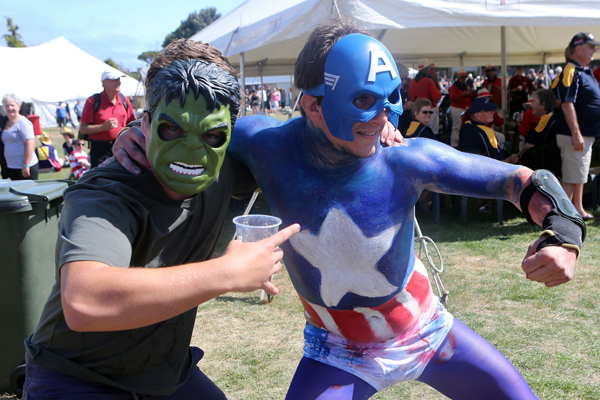 Fun and games at the Hokitika Wildfood Festival