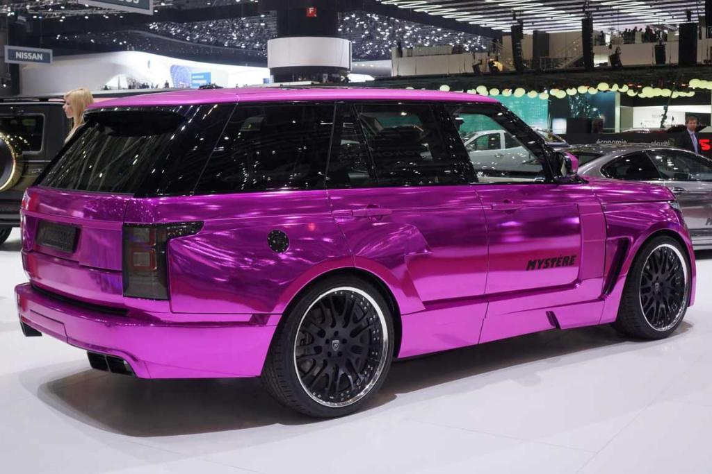 Hamann Range Rover Mystere at the Geneva motor show.