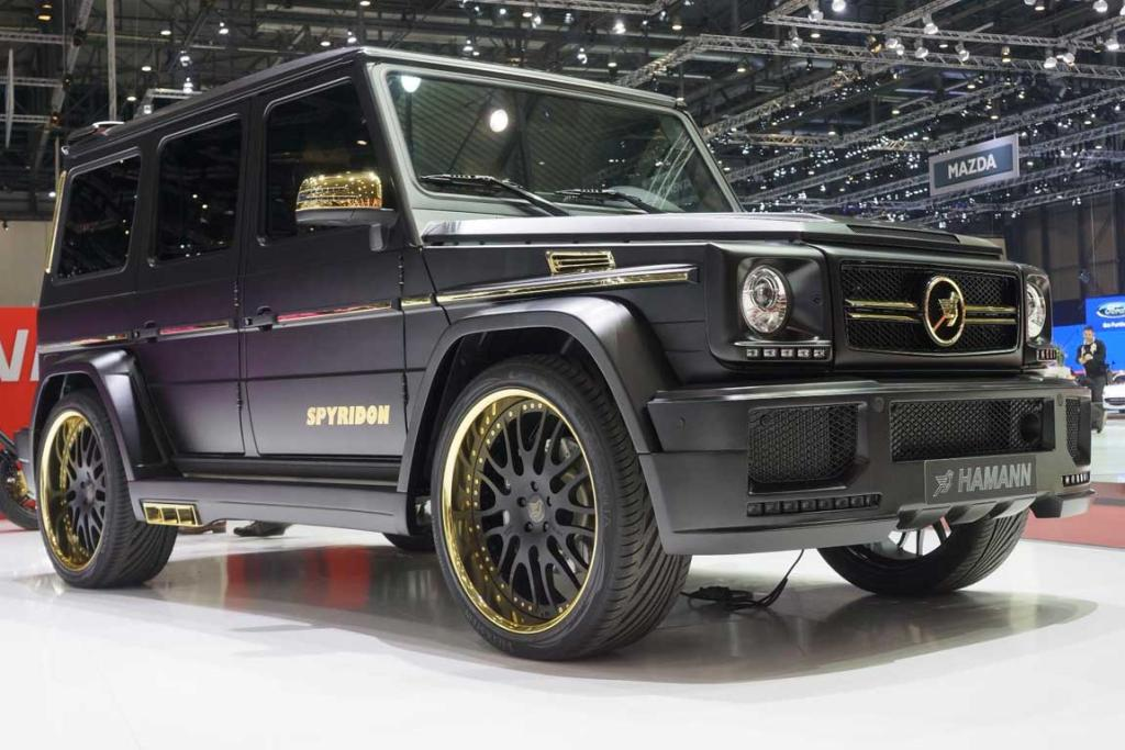 Mansory Spyridon at the Geneva motor show.