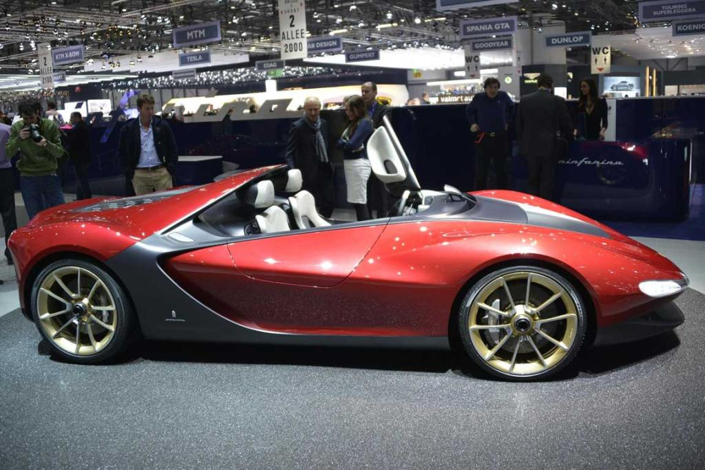 Pininfarina Sergio concept at the Geneva motor show.