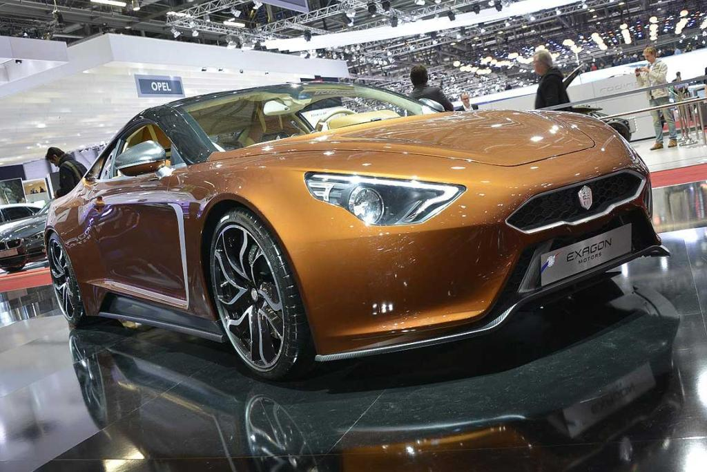 Exagon Motors Furtive-eGT at the Geneva Motor Show.
