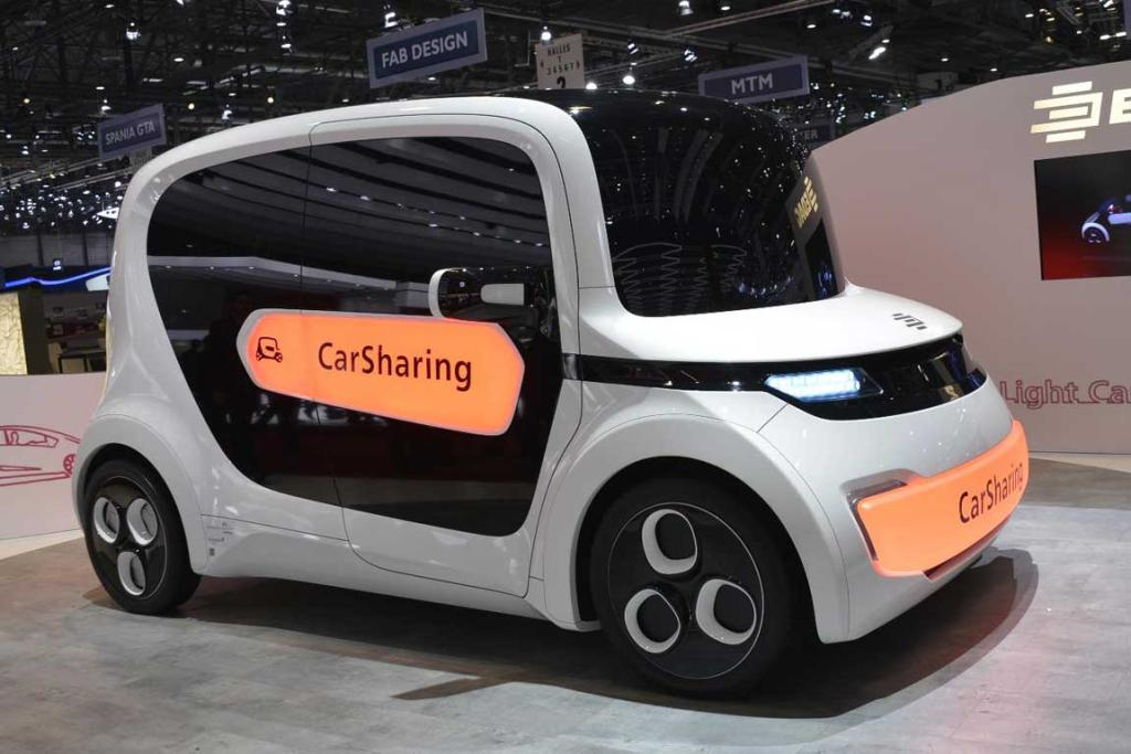 Edag Light Car Sharing at the Geneva Motor Show.
