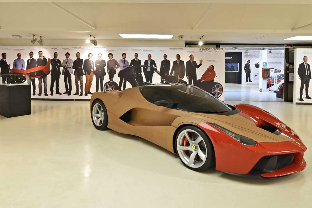 Ferrari Supercar - technology, design, myth exhibition opens in Maranello.