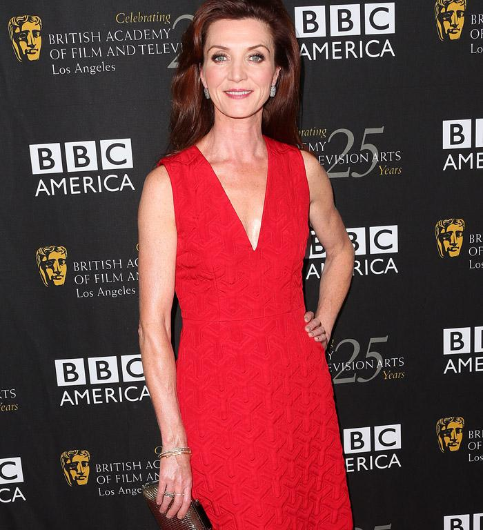 Michelle Fairley, who plays Catelyn Stark in Game Of Thrones.