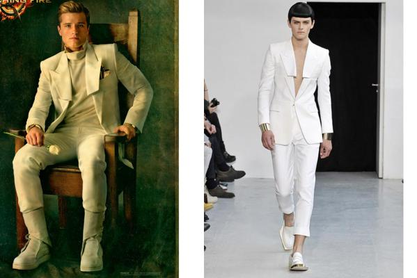 The Hunger Games Goes High Fashion